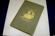 "ANTIQUE BOOK ""IN MEMORIAM"" FOR GENERAL WILLIAM T. SHERMAN SENATE - YEAR 1892"