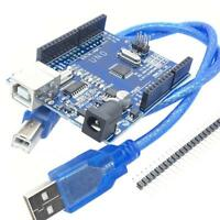 Smart Blue UNO R3 Board ATmega328P CH340G Free USB Cable For Arduino
