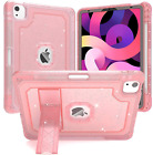 iPad Air 4th Gen Case Glitter Diamond Cover With Kickstand Full Body Shockproof