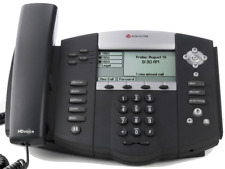 Polycom Soundpoint Ip 550 With Handsetsethernet Cablechargerand Stand