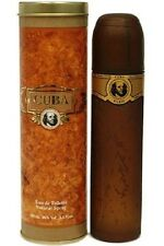 Original Cuba Gold Eau De Toilette Natural Spray Classic Men Cigar Cologne 100ml