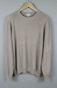 ARTU NAPOLI Men's X LARGE Knitted Cotton Crew Neck Sweater / Pullover JS15587