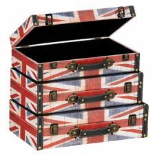 Interiors By Premier Britannia Storage Cases Set Of 3 Storage Solution RRP £127