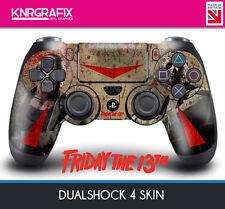 KNR6412 FRIDAY THE 13TH JASON VOORHEES DUALSHOCK 4 PREMIUM SKIN DS4 STICKER