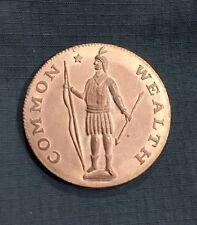 1788 MASSACHUSETTS Cent Evans Restrike