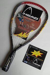 Head's Ti. Crush XL Titanium Racquetball Racquet