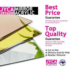MIRROR Acrylic Perspex Sheet Panel 【Up to 20% OFF】【BEST Price】FREE POST