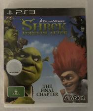Shrek Forever After 2010 - Playstation 3 PS3 -NO MANUAL!- Multiplayer FAST SALE!