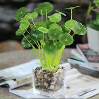Foliage Office Home Decor Artificial Lotus Leaves Plastic Plant Fake Bouquet