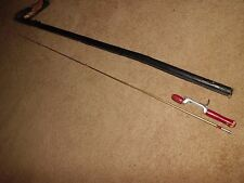 Vintage Heddon Pal 5-1/2' Baitcasting Steel Rod w/ Case
