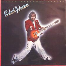 ROBERT JOHNSON Close Personal Friend UK Press Ensign ENVY 4 1978 LP