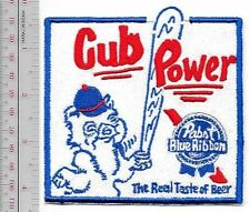 Beer Baseball Chicago Cubs & Pabst Blue Ribbon Beer & National League Cub Power