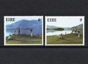 IRELAND (1975) – MNH SET OF 2:   GOLF AT KILLARNEY