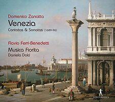 Musica Fiorita - Domenico Zanatta Venezia Cantatas and Sonatas [CD]