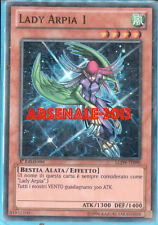 YU GI OH - LADY ARPIA 1 - LCJW-IT090 - SUPER RARA 1°ED. NM