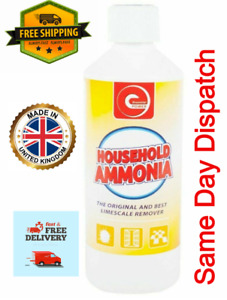 1x 500ml Ammonia Liquid Water and Cleaning Windows Home Care Ideal For Mixing UK