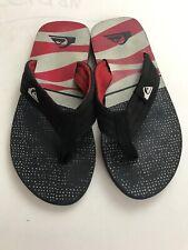 Quicksilver Mens Flip Flop Thong Comfort Sandal Size 9