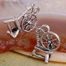 40PCS Sewing Machin Tibettan Silver Pendant Charm Beads