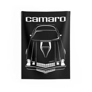 Chevrolet Camaro Z28 2nd gen - Wall Tapestry - Chevy Garage Art