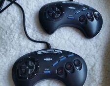 Controladores de la serie Competition Pro Pad Sega Megadrive Turbo II fuego Cámara lenta