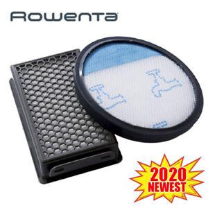 2Tlg / Set Filtro Compact Power per Rowenta RO3715 RO3795 RO3798 Aspirapolvere