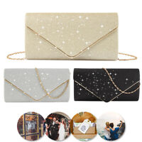 Evening Women Bag Banquet Envelope Clutch Club Party Prom Handbag Shoulder Bag