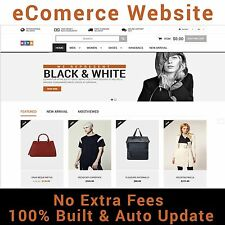 Professional Online Store Ecommerce Website - Multi Vendors + Hosting(One Year)