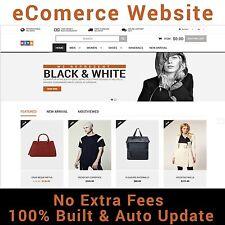 Website - eCommerce - Free Hosting For Life - Home Online Business - For Sale