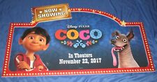 COCO Toys R Us Exclusive 4' Display Sign ~DISNEY / PIXAR Movie (NOW SHOWING)