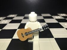 Lego Minifigure Accessory Acoustic Guitar X1 Minifigure Not Included.