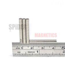 100 Tiny Magnets 3x1 mm N35 Neodymium Disc small neo craft magnet 3mm dia x 1mm