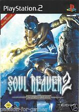 SOUL REAVER 2 for Playstation 2 PS2 - with box & manual - PAL