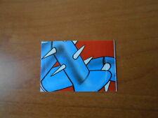 figurina MAZINGA Z n.80  EDIZIONE EDIERRE 1980 completa di velina
