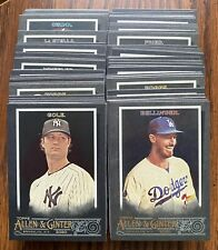 2020 Topps Allen & Ginter X Base Cards #1-300 Online Exclusive - You Pick Single