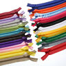 30/60pcs (12-20inch) Nylon Invisible Silk Zippers Sewing Tailoring Accessories !