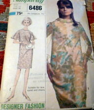 *LOVELY VTG 1960s DRESS Sewing Pattern 14/34