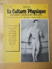 LA CULTURE PHYSIQUE bodybuilding muscle magazine/WALLACE HEREMY 4-57