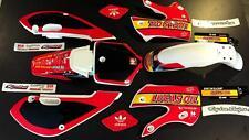 Klx 110 02-09 kx 65 02-16 Kawasaki Graphics and Plastic Lucus oil TroyLee Design