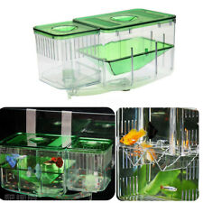 Aquarium Tank Nursery Automatic Circulating Hatchery Baby Fish Breeding System !