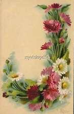 "Vintage Victorian Klein Floral Letter Initial ""J""  2"" x 3"" Fridge Magnet"