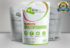 Multi Vitamins and Minerals 120 Tablets Vegetarian/Halal/Kosher UK