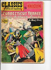 Classics Illustrated  #24  hrn 71   Connecticut Yankee in King Arthur's Court