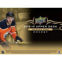 2018-19 Upper Deck Series One Hockey Inserts/SP cards Pick From List (All Sets)