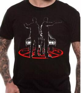 Supernatural silhouettes official merchandise t shirt