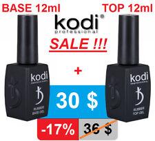 2pcs! 12ml. Rubber BASE + TOP Kodi Professional - Gel LED/UV