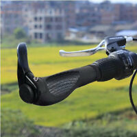 DOUBLE LOCK ON MOUNTAIN BIKE BMX HANDLEBAR GRIP BAR ENDS BICYCLE CYCLE LOCKING