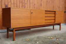 60er Vintage Teak Sideboard Kommode Retro Anrichte Danish Mid-Century Wegner Ära