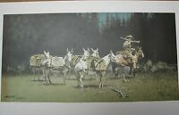 Frank McCarthy Individual Unframed Prints 1978-1983, Good Condition
