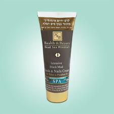 H&B Dead Sea Intensive Black Mud Hands & Nails Cream