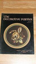 THE DECORATIVE PAINTER MAGAZINE  APRIL 1989  VOL. XVII, No. 2